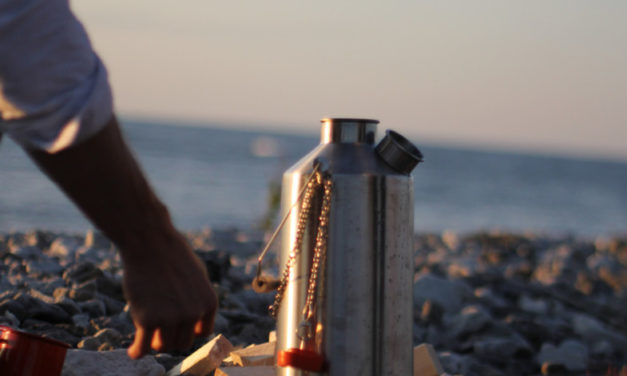 Cooking in the wild with a Kelly Kettle