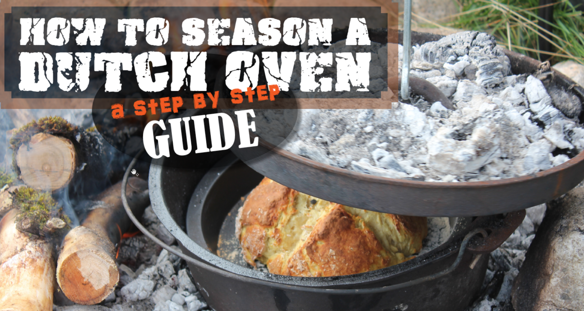 A step-by-step guide to seasoning a Dutch oven