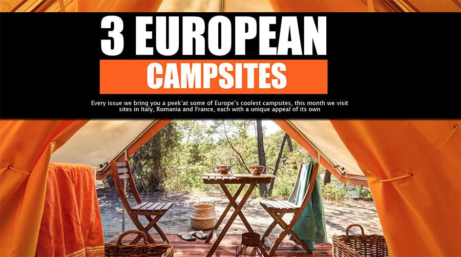 'Hidden Gem' Campsites of Europe