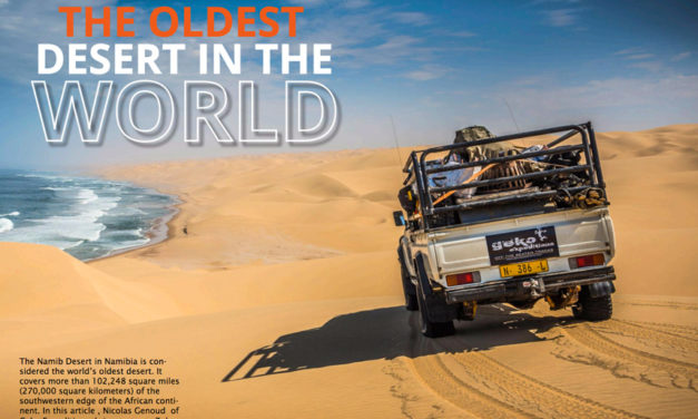 The Oldest Desert in the World – Crossing the Namib Desert