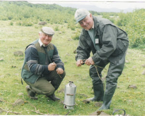 Below;The Kelly Kettle Founding Fathers' Padraig Kelly & Frank Ellis (RIP)
