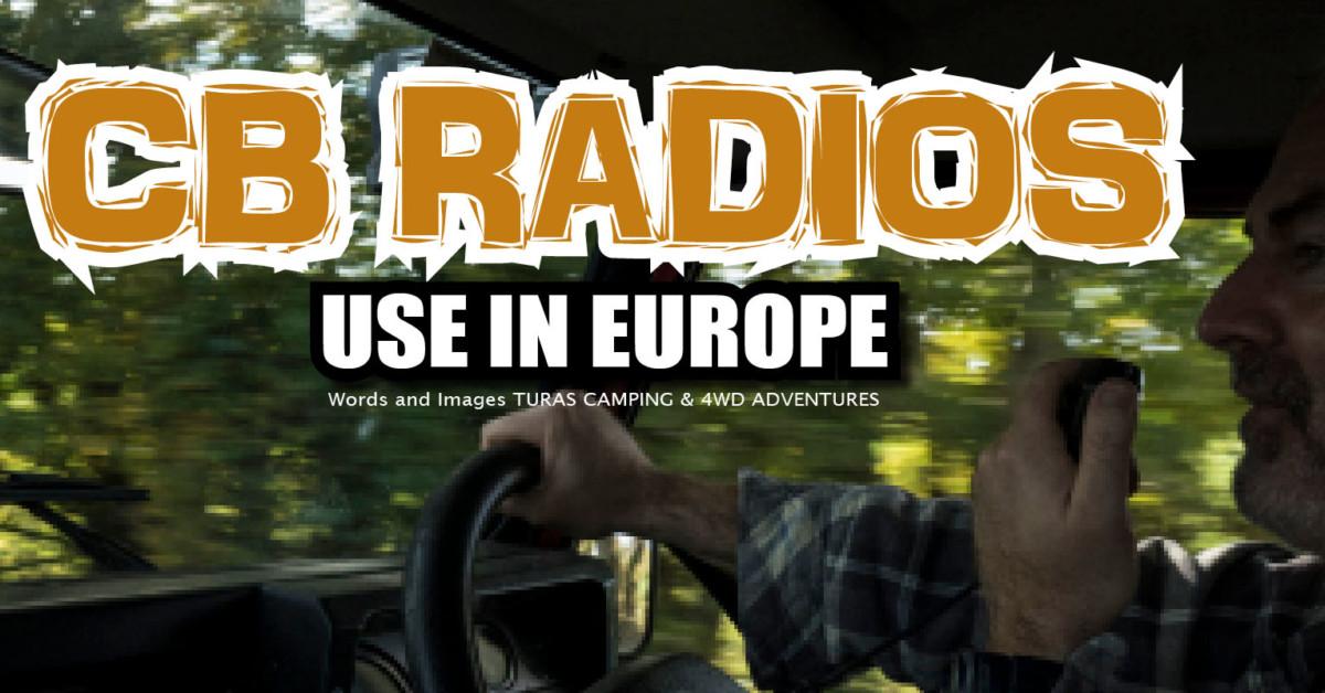 CB-radiot Euroopassa