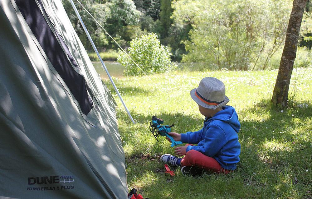 ハッピーリトルキャンパー–子供と一緒にキャンプ
