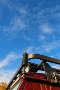 Een CB-radio-antenne
