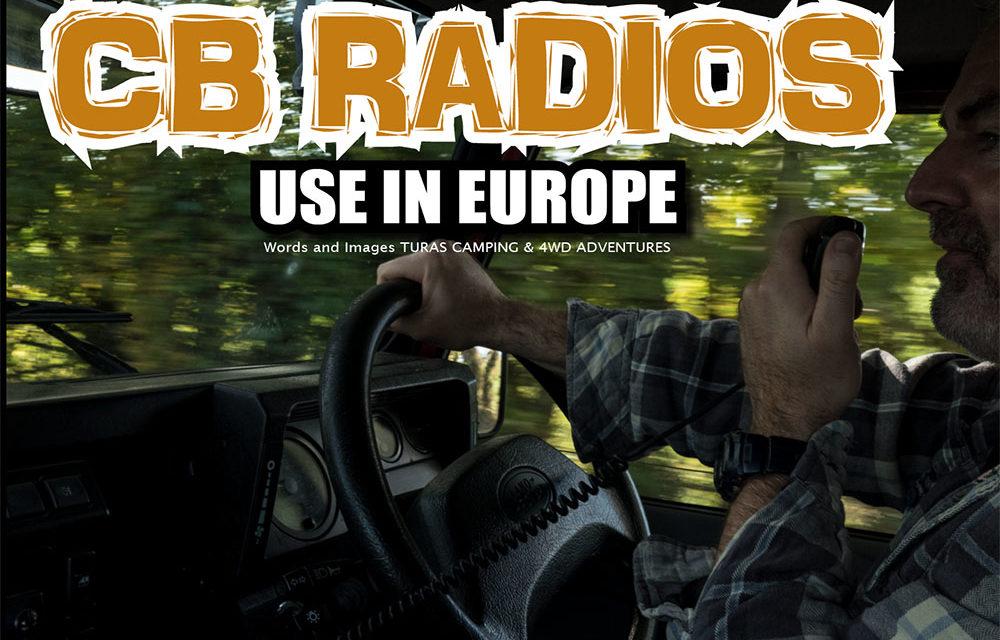 CB Radio gebruiken in Europa