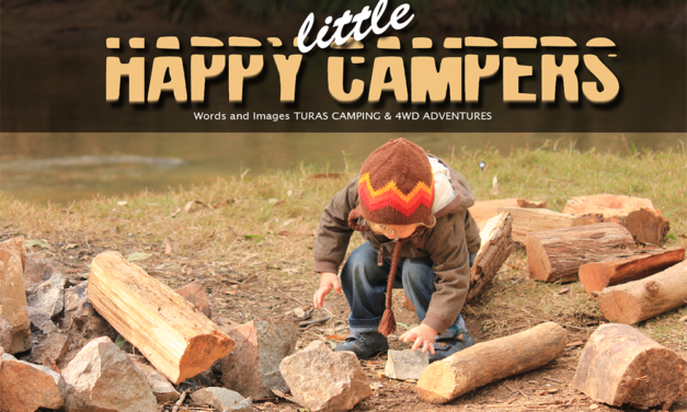 Happy Little Campers - Kamperen met kinderen