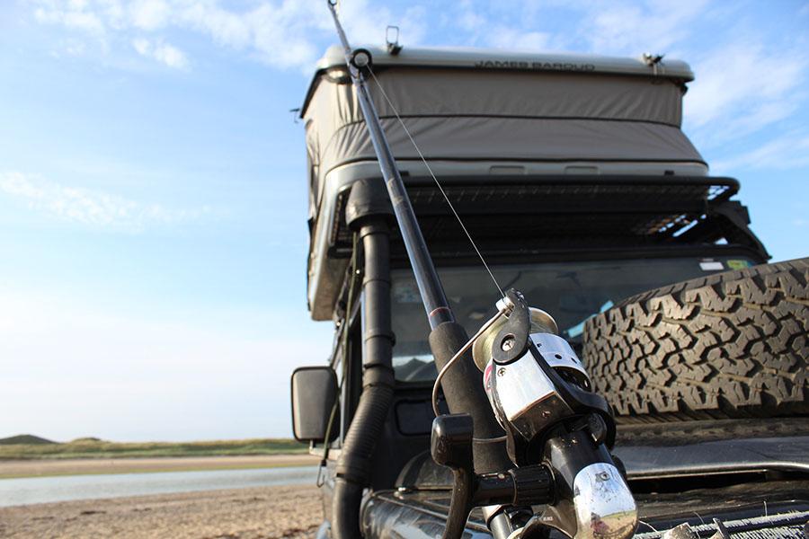 ਆਪਣੇ 4WD ਨਾਲ ਫੜਨ ਅਤੇ ਕੈਂਪਿੰਗ
