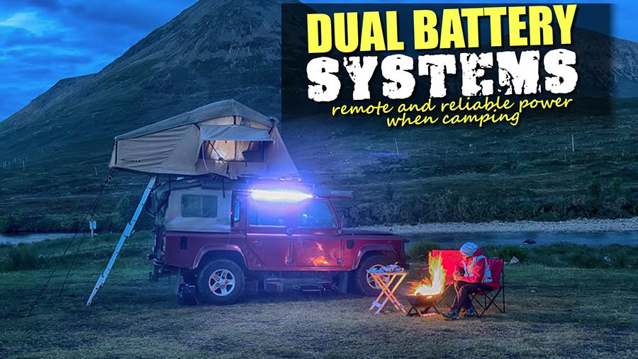 Doppelte Batteriesysteme