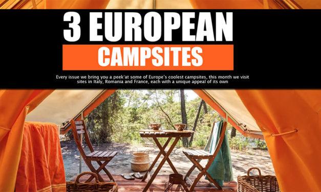 Euroopan piilotetut leirintäalueet