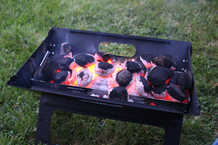 Camping Fire Pit >> Using Firepits For Camping Fires And Cooking Www Turas Tv