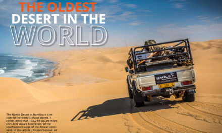 The Oldest Desert in the World – Crossing the Namib Desert