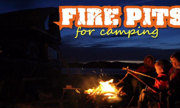 Kamp ateşleri ve Pişirme için Firepit Kullanma