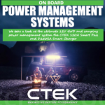On board battery power management systems from CTEK