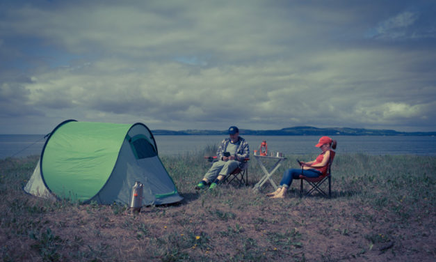 Some simple tips for pitching a ground tent.