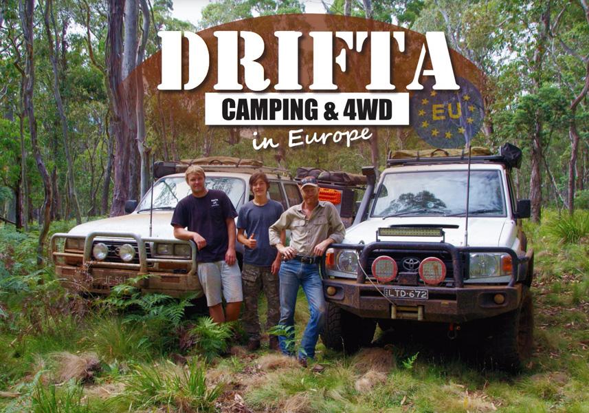 DRIFTA ਕੈਂਪਿੰਗ ਅਤੇ 4WD ਯੂਰਪ ਵਿੱਚ