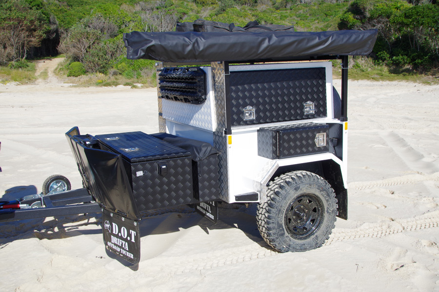 The new DRIFTA DOT 4 offroad camper trailer