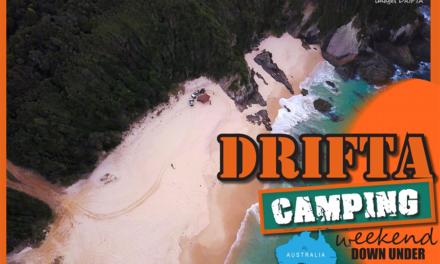 DRIFTA Camping Weekend Down under