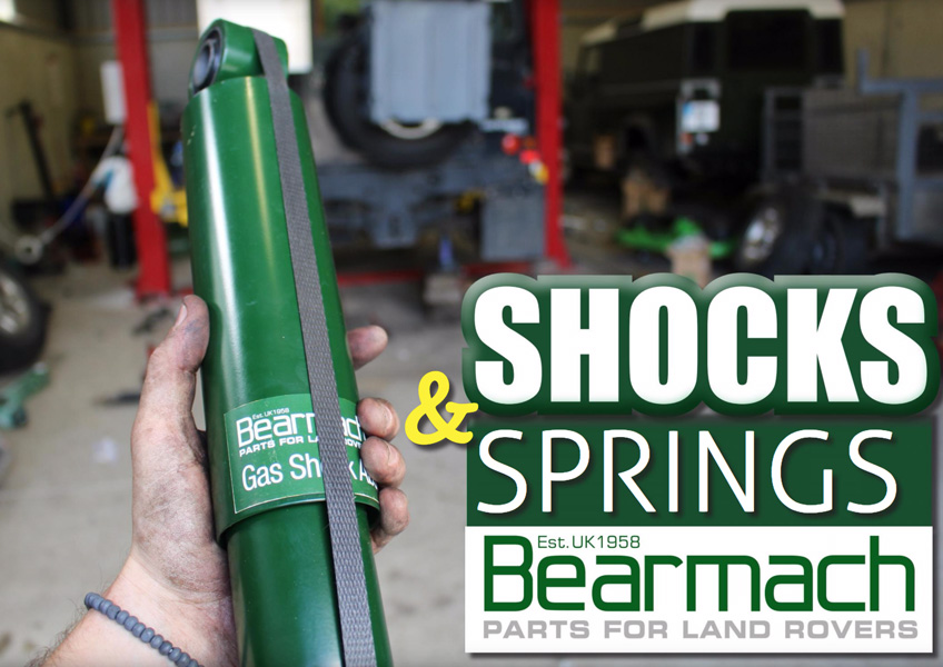 Bearmach-eko Shocks and Springs