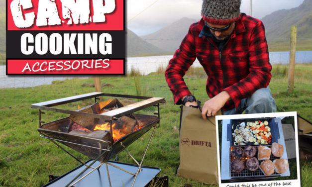 Camp Cooking Accessories- SnowPeak di Eropah -DRIFTA