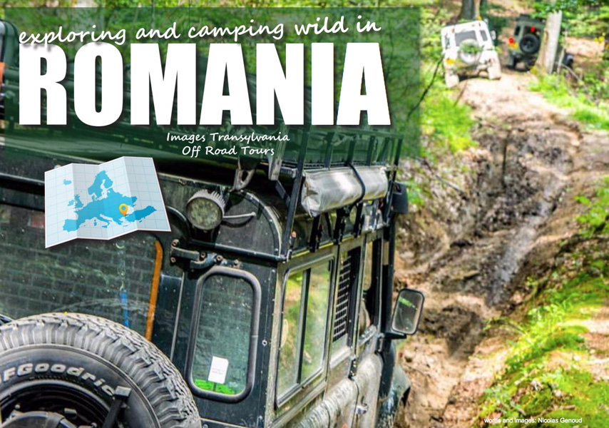 Exploring and Camping Wild in Romania