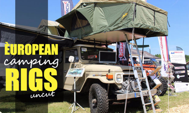 Europese Camping Rigs op Abenteuer & Allrad