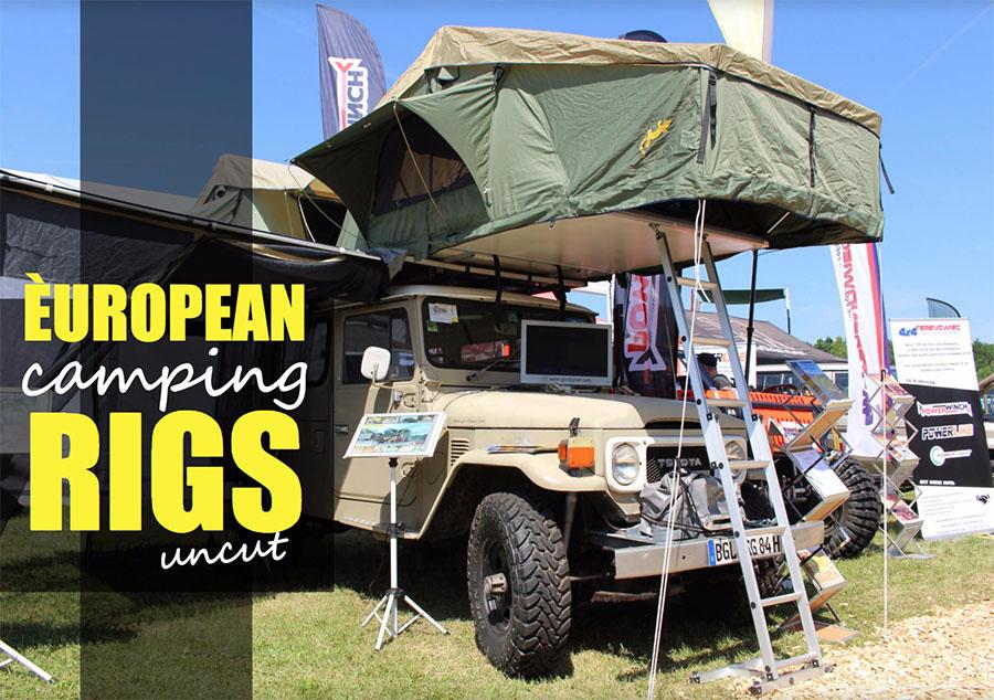 European Camping Rigs at Abenteuer & Allrad