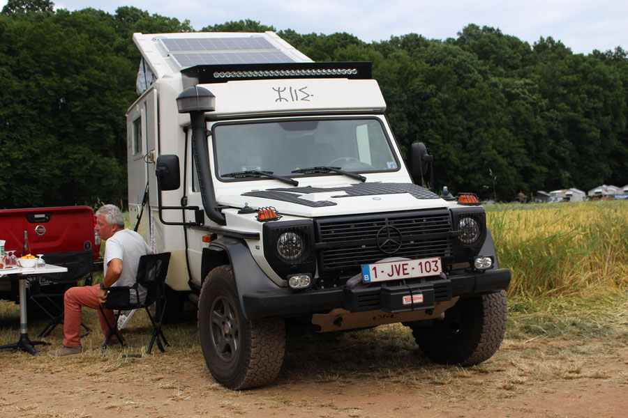 Arctic Trucks Mercedes Conversion This 2015 conversion has travelled extensively around the world with its Belgian owners.