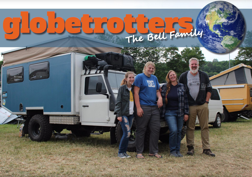 Globetrotters- The Bell Family a2a Expedition