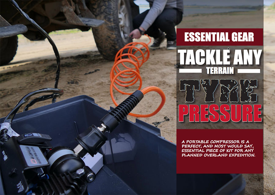 Tackle any Terrain with Tyre Pressure (Part 1) ARB CKMP12 portable compressor