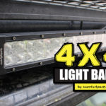 4 × 4 LED svetlobne palice iz euro4x4parts