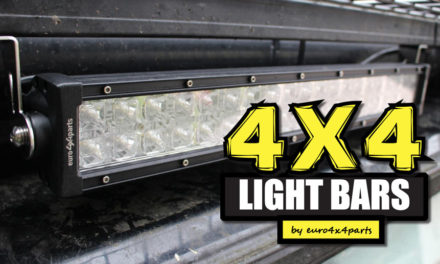 4 × 4 LED-lichtbalken van euro4x4parts