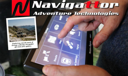 Off-road navigation with Navigattor