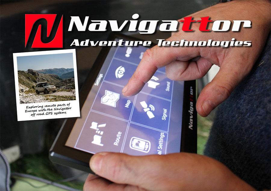 Off-road nabigazioa batera Navigattor