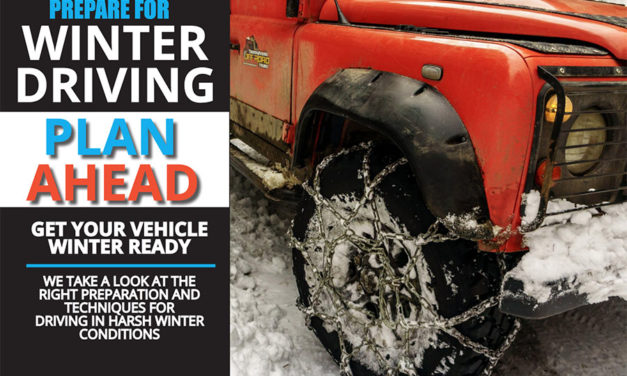 Winter driving- get your vehicle winter ready.