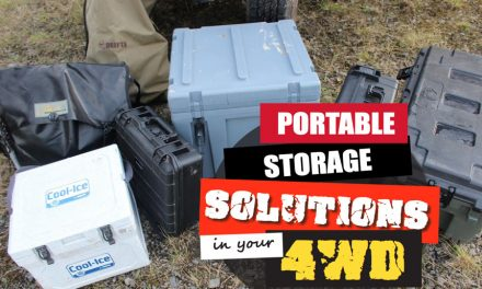 Portable Storage Solutions in your 4WD