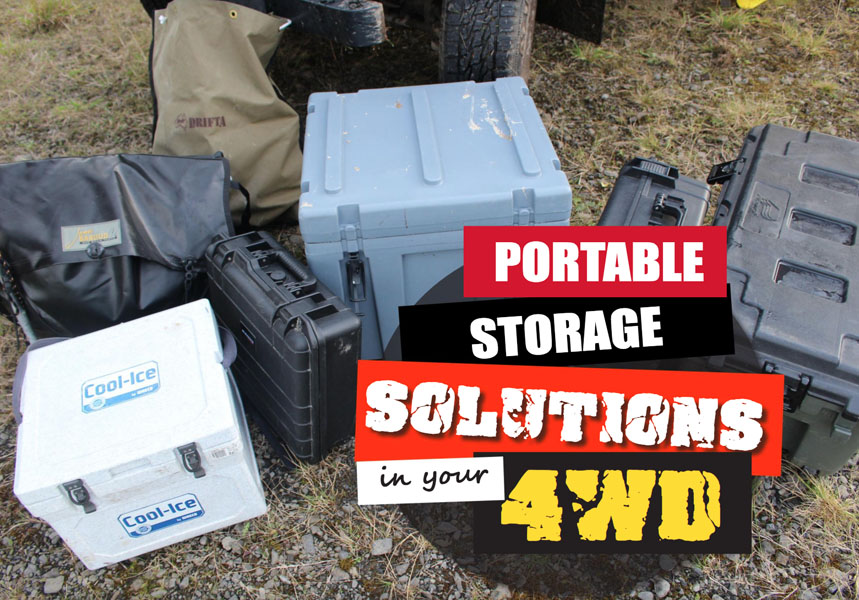 Portable Storage-Lösungen in Ihrem 4WD