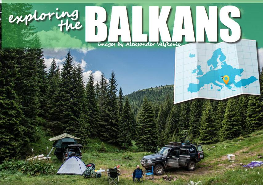 Verkenning van de Balkan