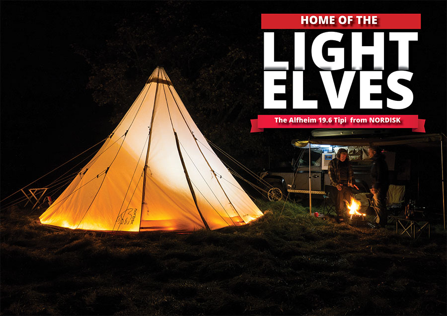 Home of the Light Elves – The Alfheim 19.6 Tipi from NORDISK
