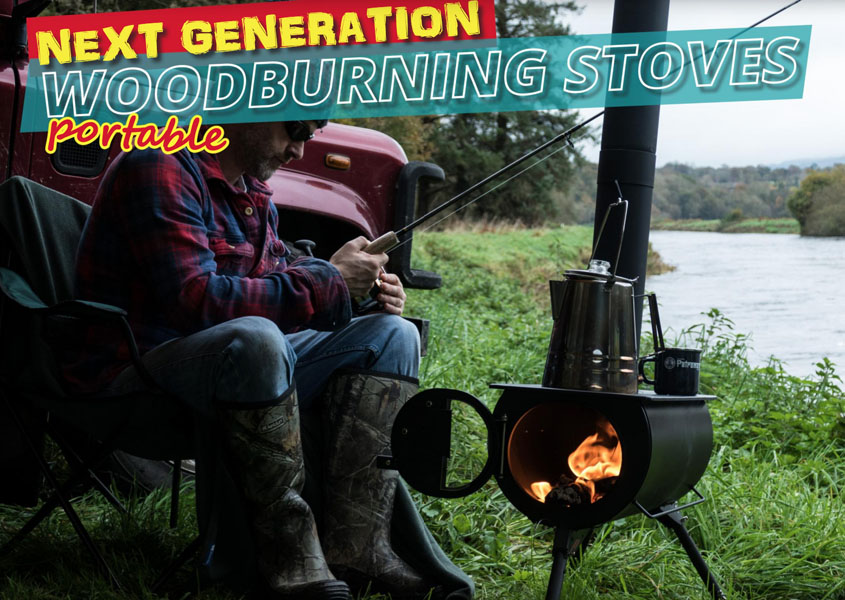 Next Generation Portable Wood Burning Stoves for Camping
