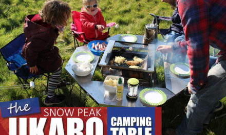 The SnowPeak Jikaro Camping Table