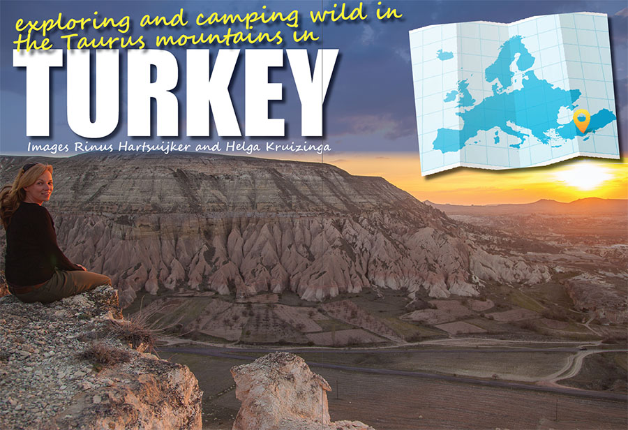 Exploring and camping wild in the Taurus mountains in Turkey.