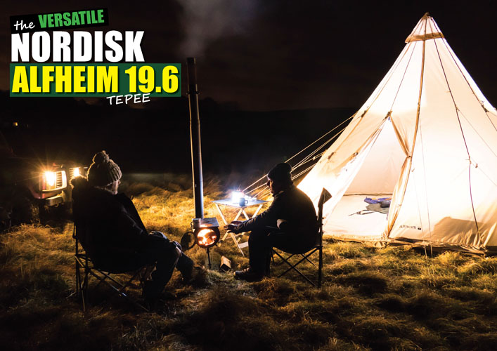 The Versatile Nordisk Alfheim 19.6 Tepee – Canvas Tipi tent