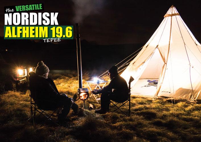 多彩な Nordisk Alfheim 19.6 Tepee  - キャンバスTipiテント