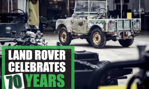 Land Rover ospatzen 70 urte