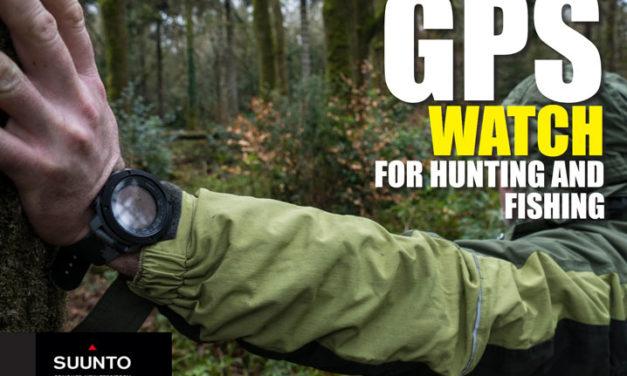 GPS Watch for Hiking, Ehiza eta Arrantza.  Suunto Traverse Alpha - GPS - GLONASS Watch
