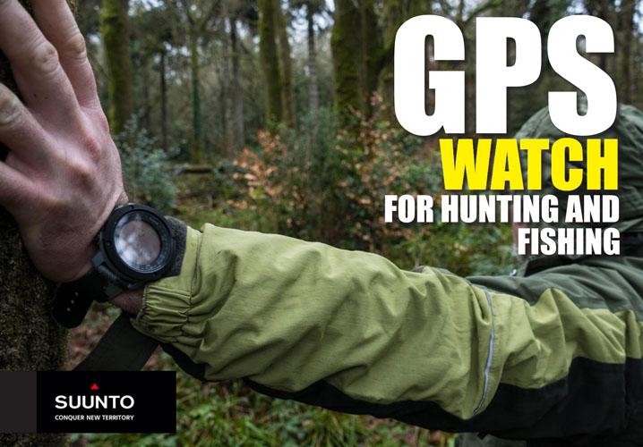 GPS-vaellus, metsästys ja kalastus.  Suunto Traverse Alpha - GPS - GLONASS Watch