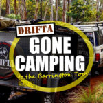 Weg met Camping naar de Barrington Tops gegaan DRIFTA