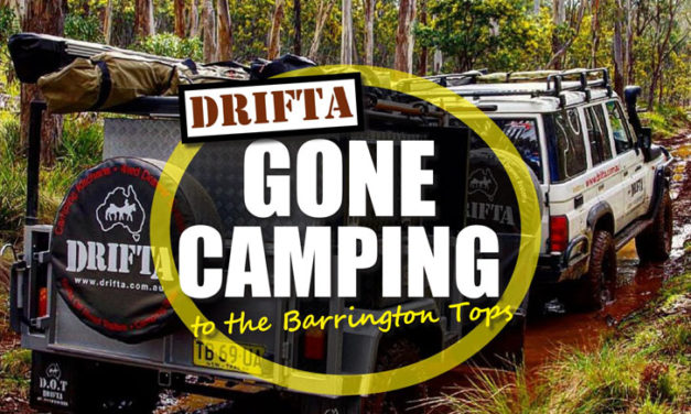 Gather Camping Barrington Tops batera DRIFTA