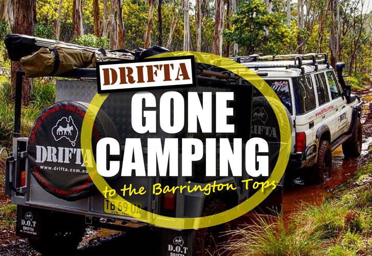 Barringtonのトップにキャンプする DRIFTA