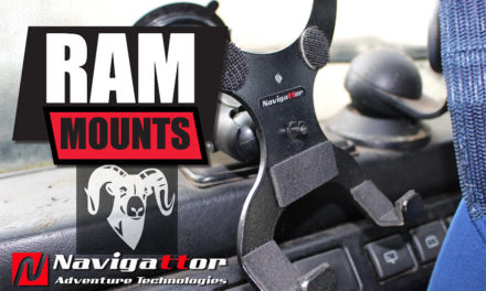 RAM Mounts Available from Navigattor Adventure Technologies